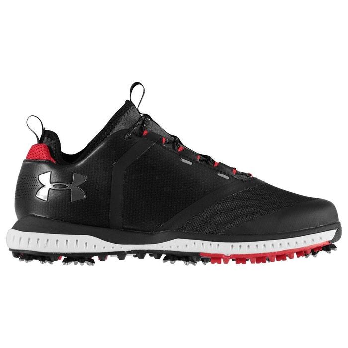 Chaussures de golf à pointes noir Under Armour