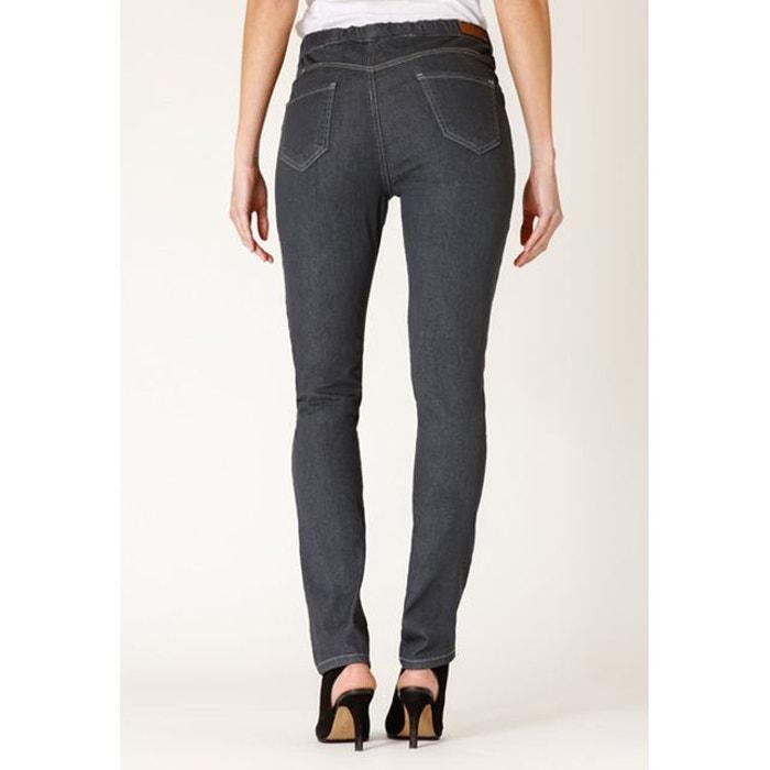 6d957990c6b5c Jeans coupe legging stretch taille haute élastiquée luna Rica Lewis   La  Redoute