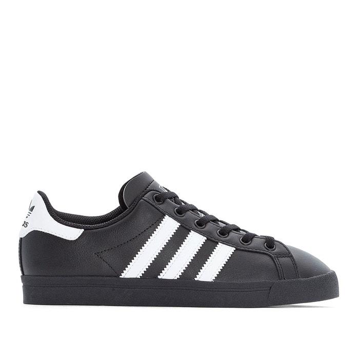 adidas la trainer black leather