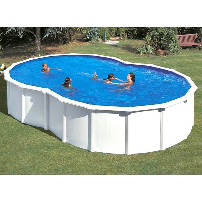piscine acier blanc varadero en huit 6 40 x 3 90 x 1 20 m gr gre la redoute. Black Bedroom Furniture Sets. Home Design Ideas