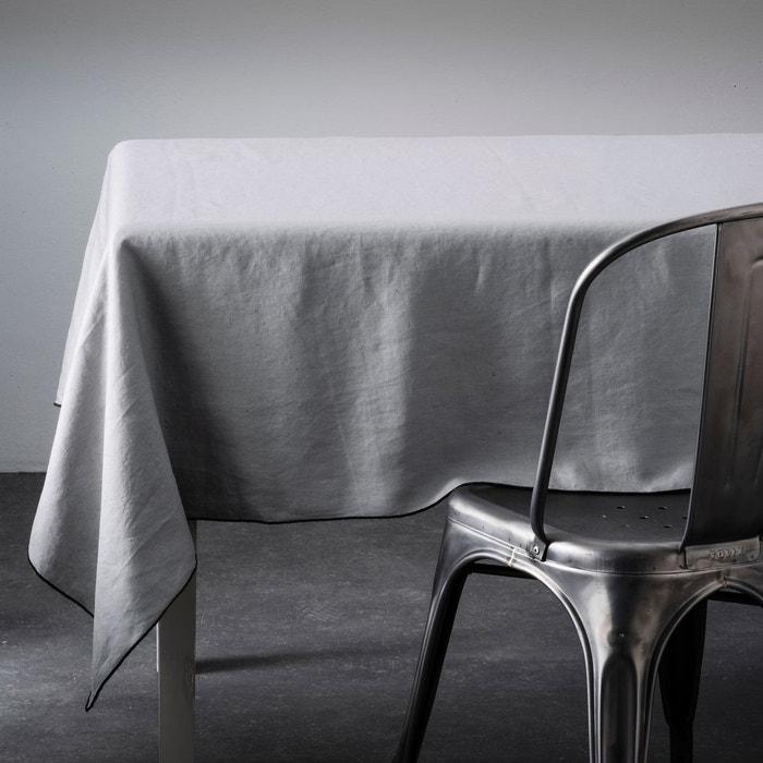 nappe lin lav suzy bleu polaire am pm en solde la redoute. Black Bedroom Furniture Sets. Home Design Ideas