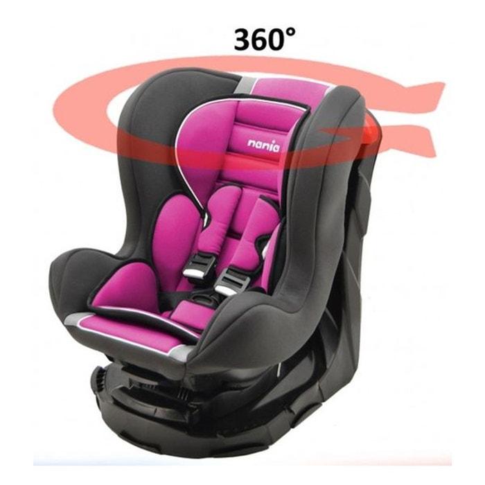 si ge auto revo 360 groupe 0 1 nania luxe mycarsit la redoute. Black Bedroom Furniture Sets. Home Design Ideas