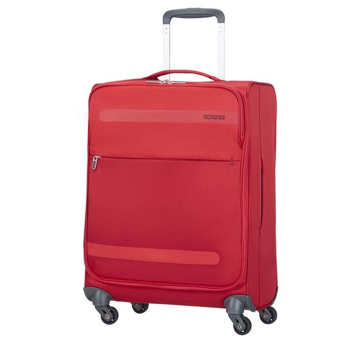 herolite super light valise cabine 4 roues 55cm american tourister la redoute. Black Bedroom Furniture Sets. Home Design Ideas