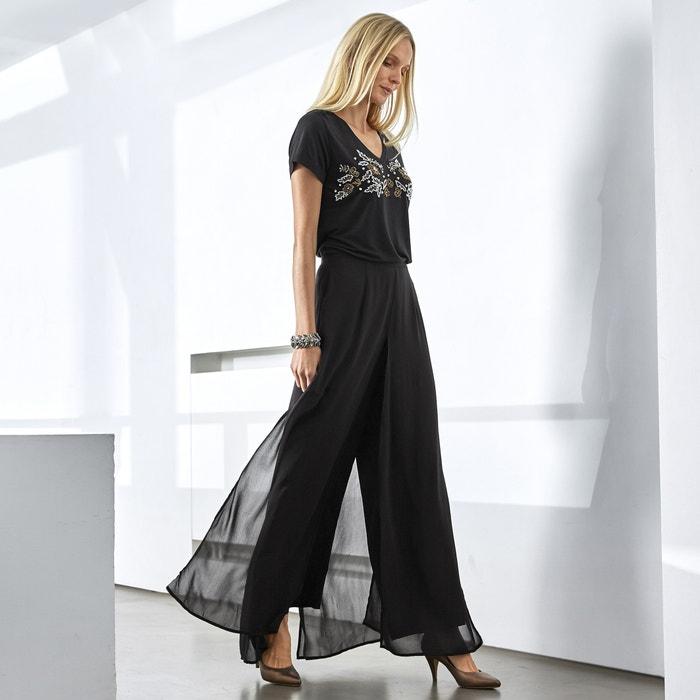 "Wide Leg Trousers, Length 29.5""  ANNE WEYBURN image 0"
