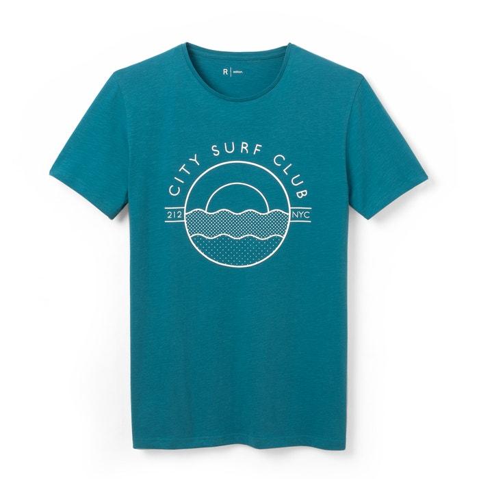 afbeelding Bedrukt T-shirt met ronde hals R édition