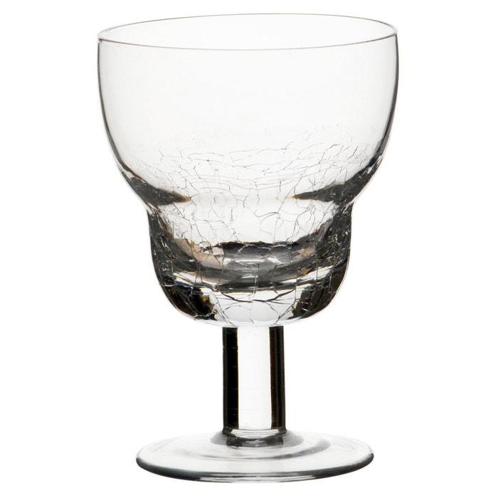 lot de 6 verre vin bono transparent sibo homeconcept la redoute. Black Bedroom Furniture Sets. Home Design Ideas