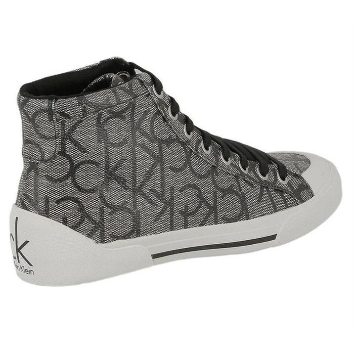 Baskets mode textile gris Calvin Klein Escompte Bonne Vente FehNDMzP