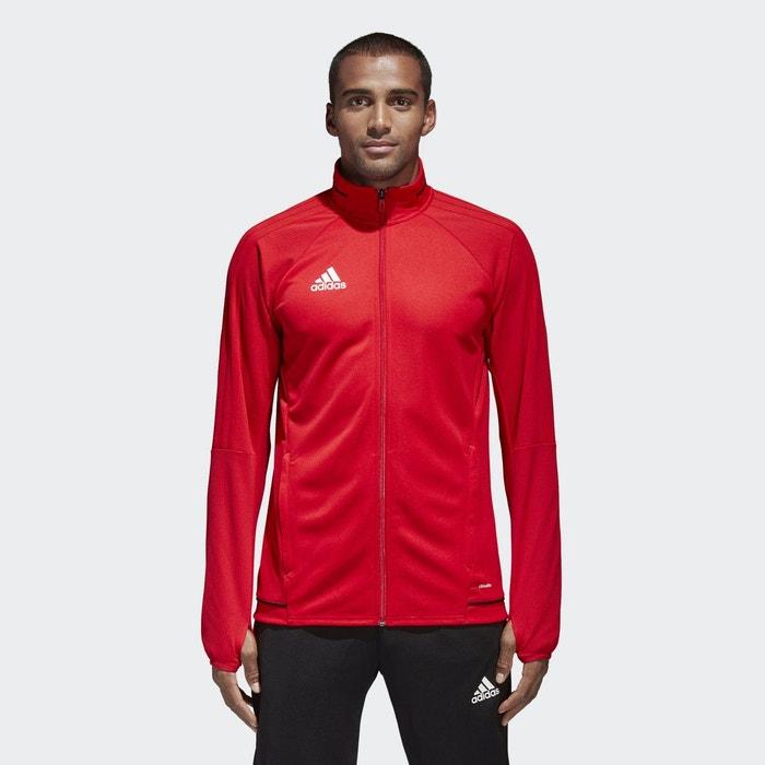 Veste d entraînement tiro 17 rouge Adidas Performance   La Redoute 5f59ce6a1820