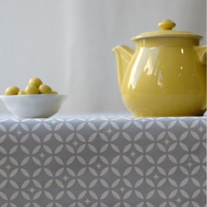nappe enduite ronde ou ovale mosa que fleur de soleil la. Black Bedroom Furniture Sets. Home Design Ideas