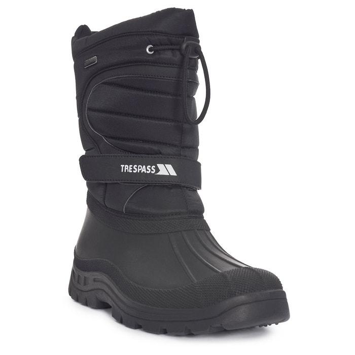 Dodo bottes sans lacets hommes noir Trespass