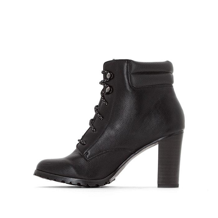 Botines a tac 243;n monta de botas Redoute La estilo alto Collections 4w0qAnEa