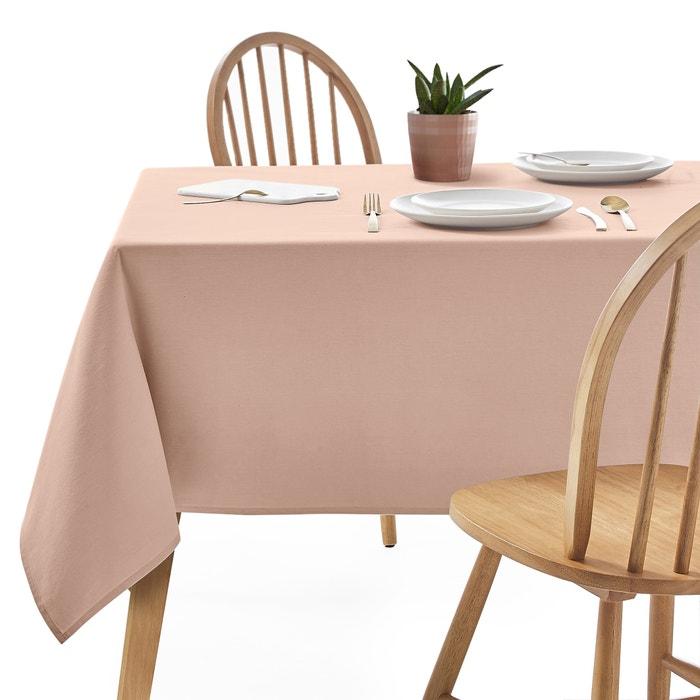 nappe en coton enduite unie scenario la redoute. Black Bedroom Furniture Sets. Home Design Ideas