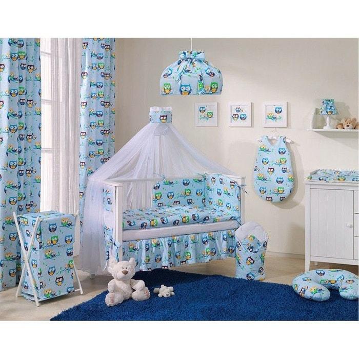 rideaux pour chambre d 39 enfant hiboux sevira kids la redoute. Black Bedroom Furniture Sets. Home Design Ideas