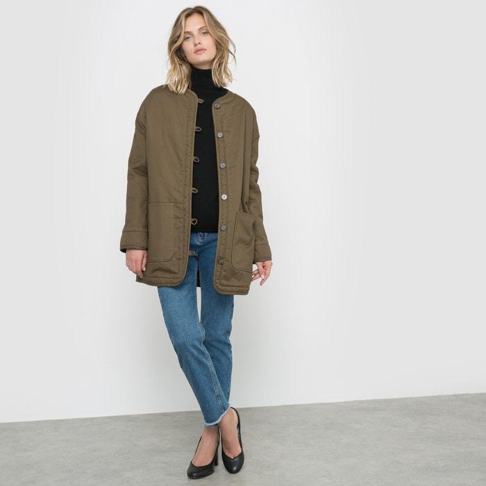 Image Military Fleece Lined Coat R studio