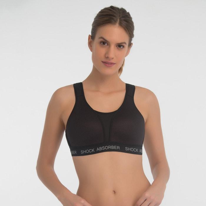 15af58467 Ultimate run padded sports bra Shock Absorber