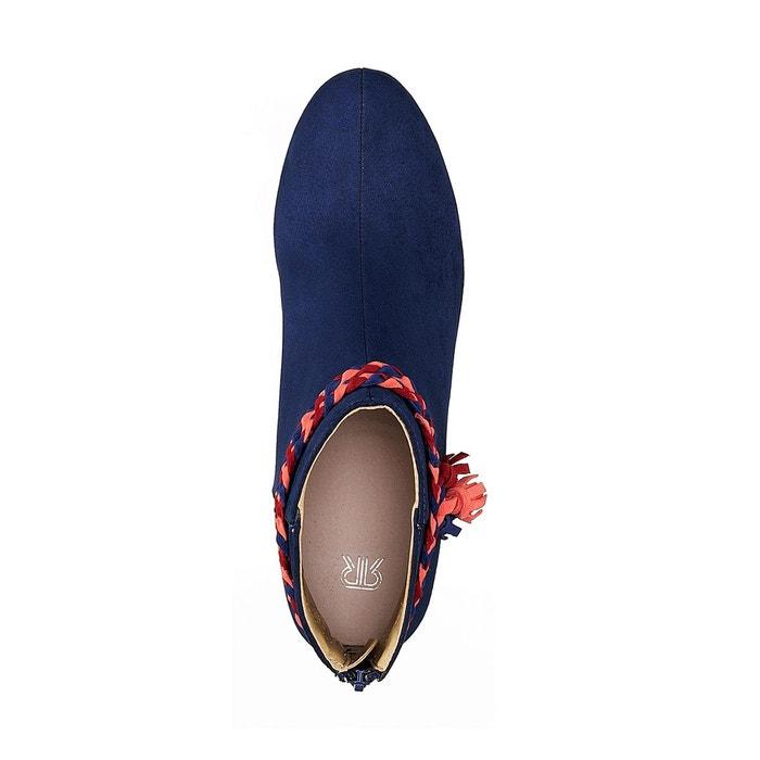 Boots détail tresse La Redoute Collections