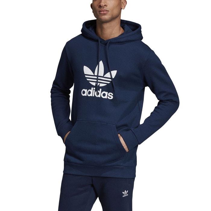 Sweat capuche Adidas Bleu marine   FootKorner