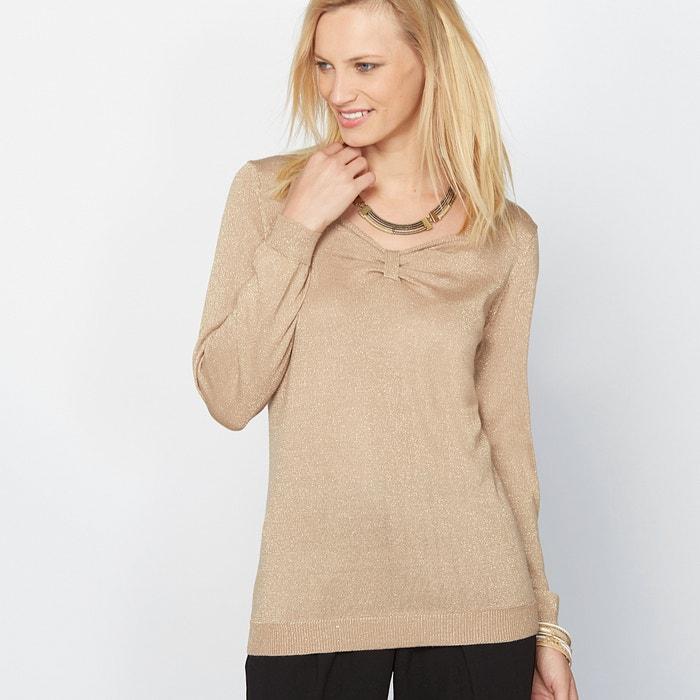 Image Pullover, metallisiertes Effektgarn, 13% Wolle ANNE WEYBURN