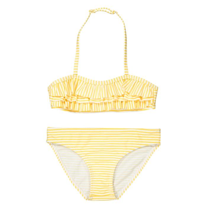 Striped Bikini, 3-12 Years  La Redoute Collections image 0