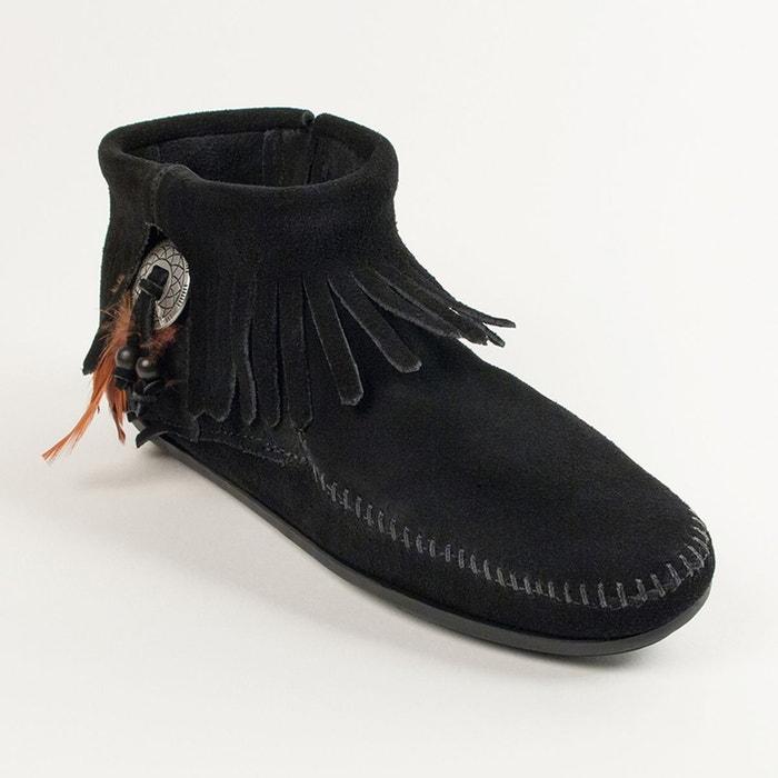 Boots concho feather Minnetonka explorer Autorisation De Vente Pas Cher Ej3V3G3