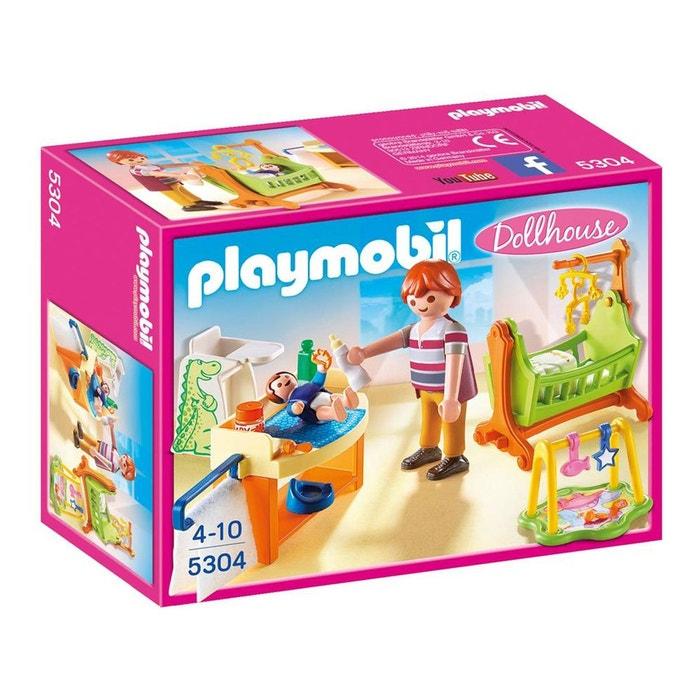 Chambre de b b pla5304 couleur unique playmobil la redoute - La redoute chambre bebe ...