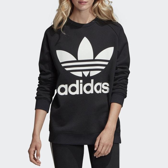La Oversize Sudadera Con Estampado Redoute Adidas Originals Negro YwfZqw