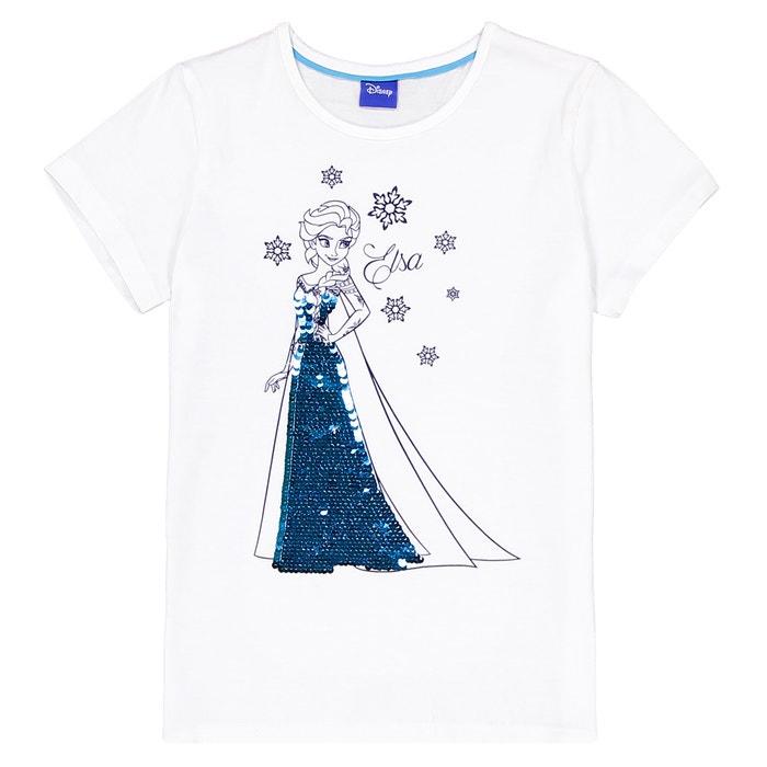Paillettes 58 Anni Shirt T Double Reine Neiges Bianco Face Des La g6vfy7Yb