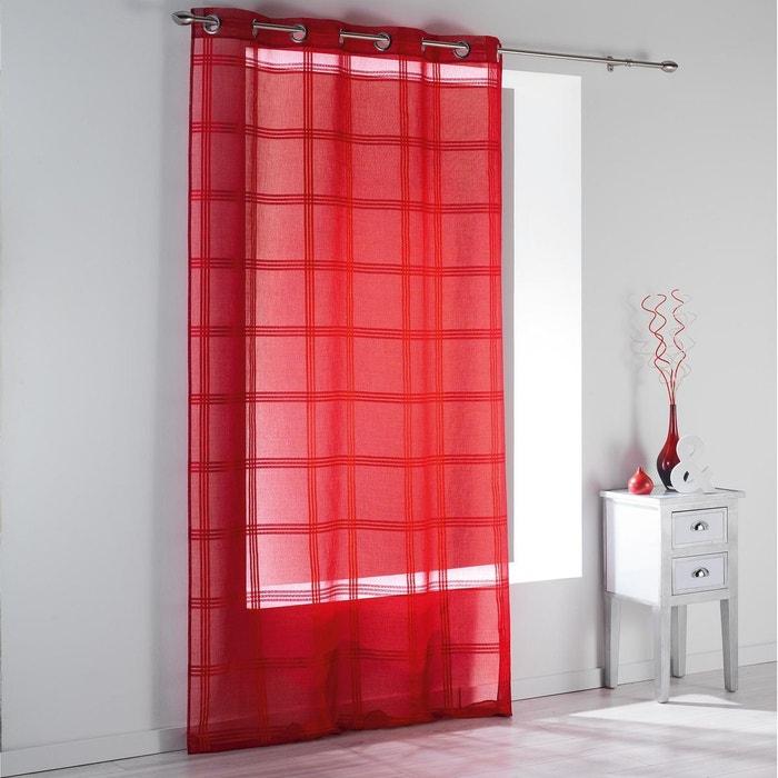 voilage oeillets 140x240 sabl ray peps douceur d interieur la redoute. Black Bedroom Furniture Sets. Home Design Ideas