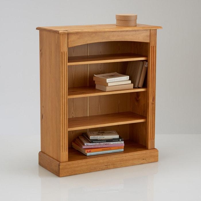 Image Bibliothèque basse, pin massif, Authentic Style. La Redoute Interieurs