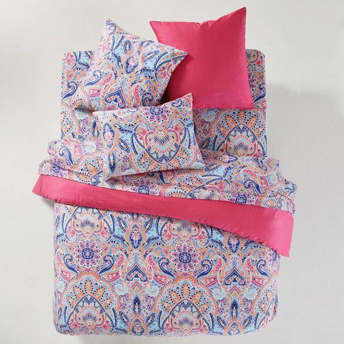 Housse de couette divali violet rose bleu blanc la - La redoute housse de couette en solde ...