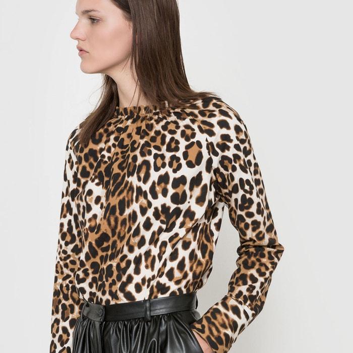 Image Blouse imprimé léopard ISABELLE THOMAS X LA REDOUTE MADAME
