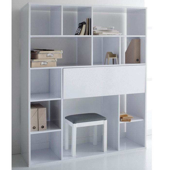 Bureau-bibliothèque, newark blanc La Redoute Interieurs | La Redoute