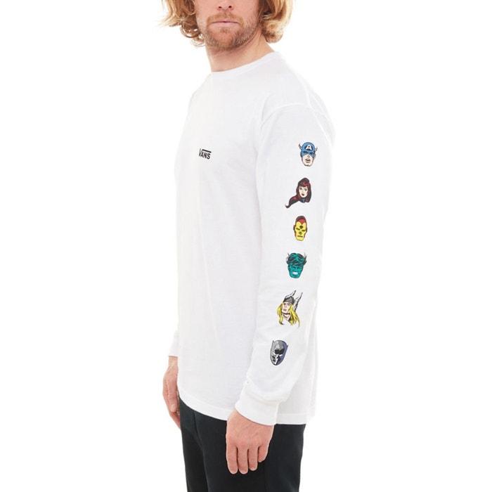 Camiseta VANS MARVEL X larga VANS de manga FSdwxFZz