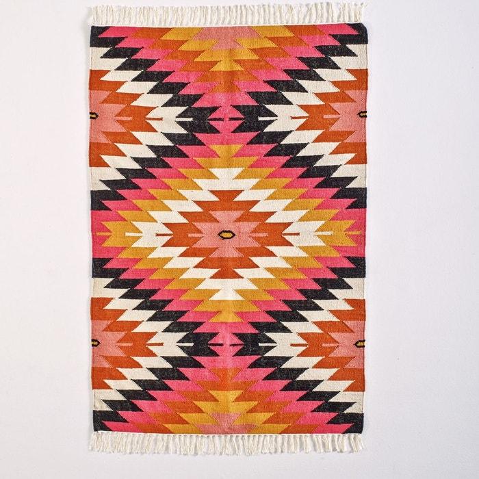 Tapis Kilim Rhombus Multicolore La Redoute Interieurs La Redoute