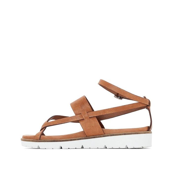 ... Sandales compensées, cuir, Icare PATAUGAS (4) ...