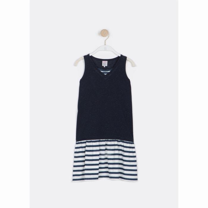 Image Printed Stripes Vest-Style Dress, 6-16 Years LITTLE KARL MARC JOHN