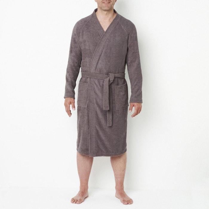 peignoir de bain anthracite castaluna for men en solde la redoute. Black Bedroom Furniture Sets. Home Design Ideas