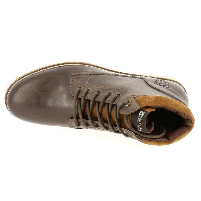 Chaussure redskins babylone noir et taupe noir Redskins