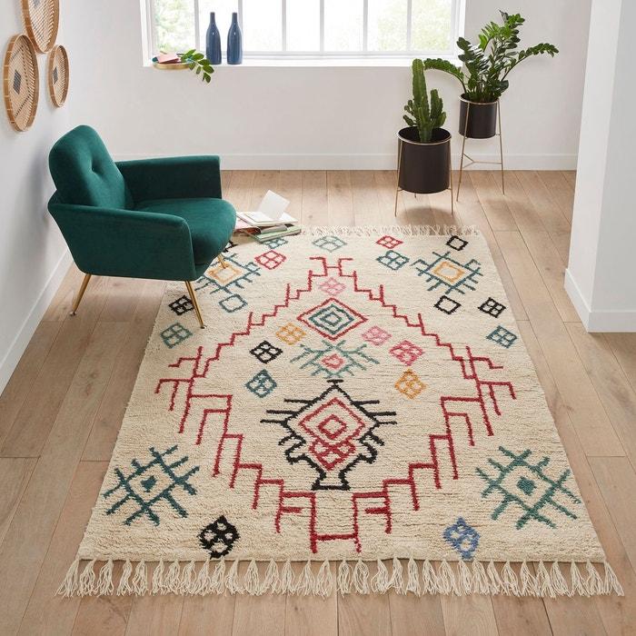 tapis style berb re en laine adza multicolore la redoute. Black Bedroom Furniture Sets. Home Design Ideas
