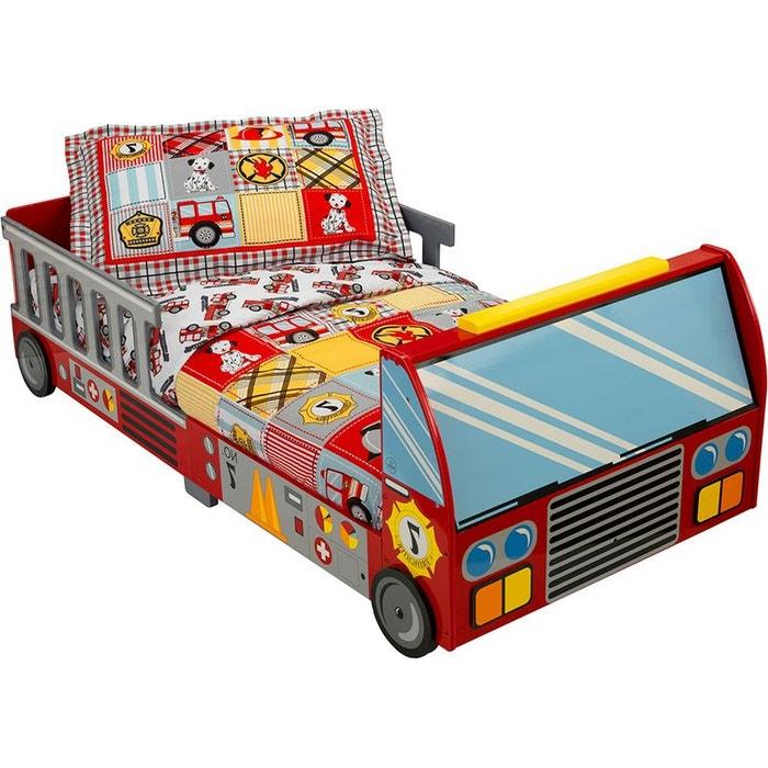 lit pour enfant pompier multicolore kidkraft la redoute. Black Bedroom Furniture Sets. Home Design Ideas