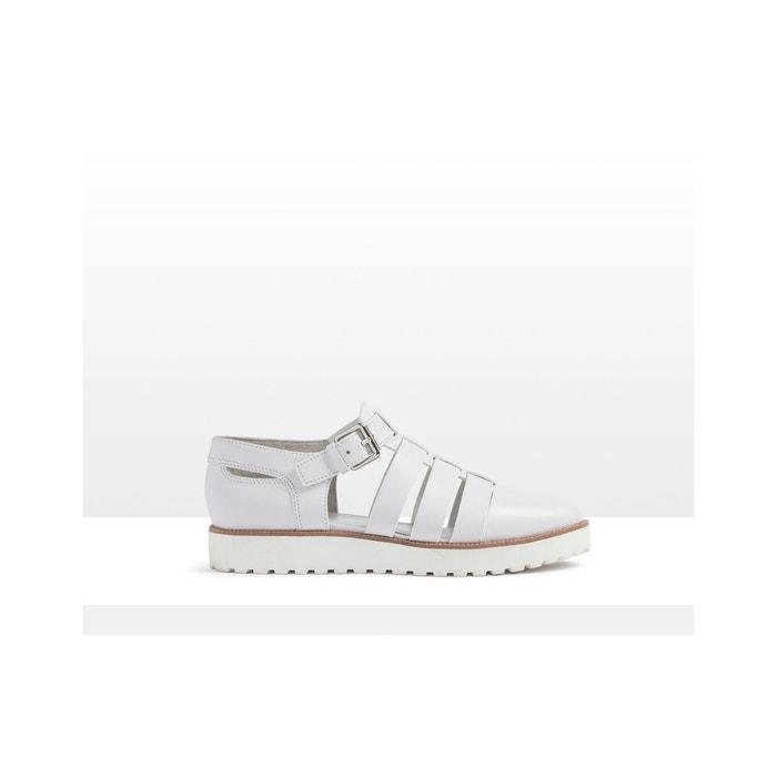 Sandales compensées - oria  blanc What For  La Redoute