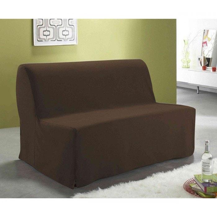 Housse bz dos couvert chocolat 140 cm marron terre de nuit for Housse bz la redoute