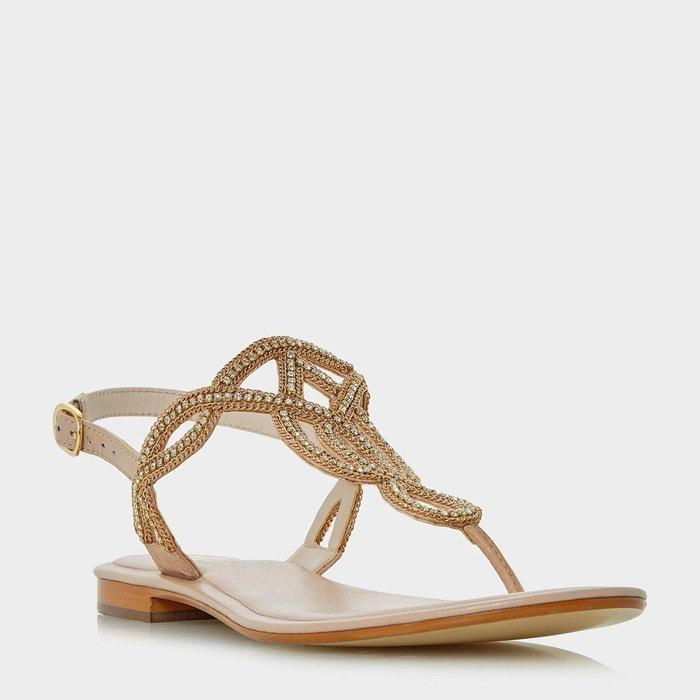 Sandales ornées à entredoigt - nea  Dune London  La Redoute