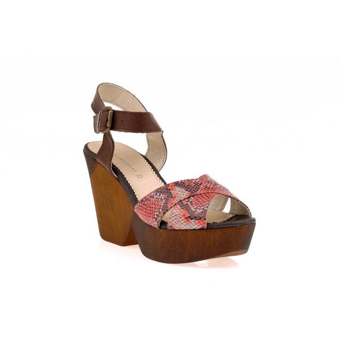 Sandale  rouge Vaquetillas  La Redoute