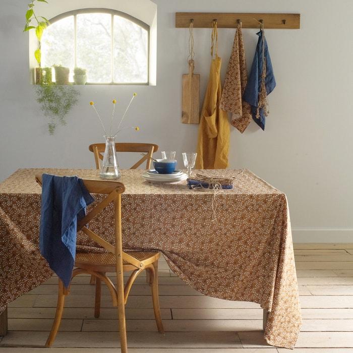 nappe imprim e coton lin lav lonie la redoute interieurs. Black Bedroom Furniture Sets. Home Design Ideas
