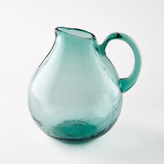 Galindo Hand-Blown Glass Jug  AM.PM. image 0
