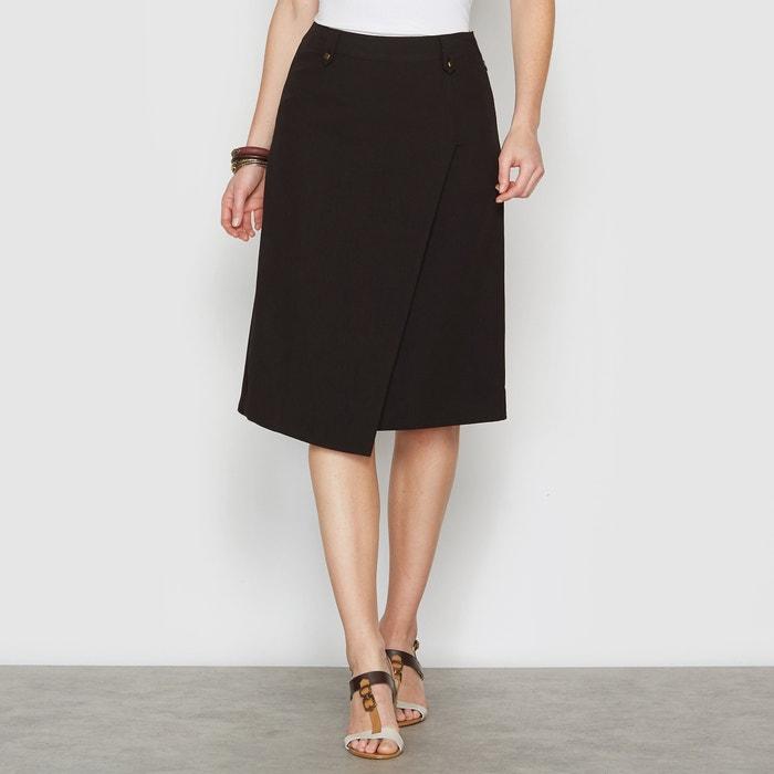 Asymmetrical Knee-Length Skirt  ANNE WEYBURN image 0