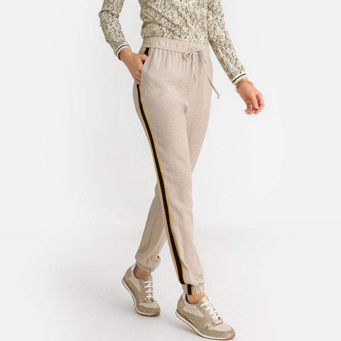 a1c19f289f300 Pantalon droit, fluide Anne Weyburn grège | La Redoute