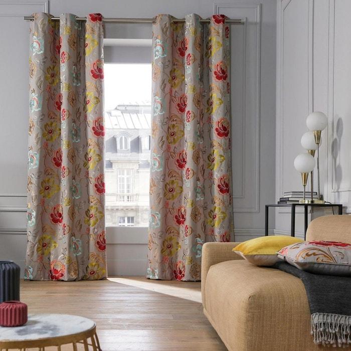 rideau oeillets magellan madura la redoute. Black Bedroom Furniture Sets. Home Design Ideas