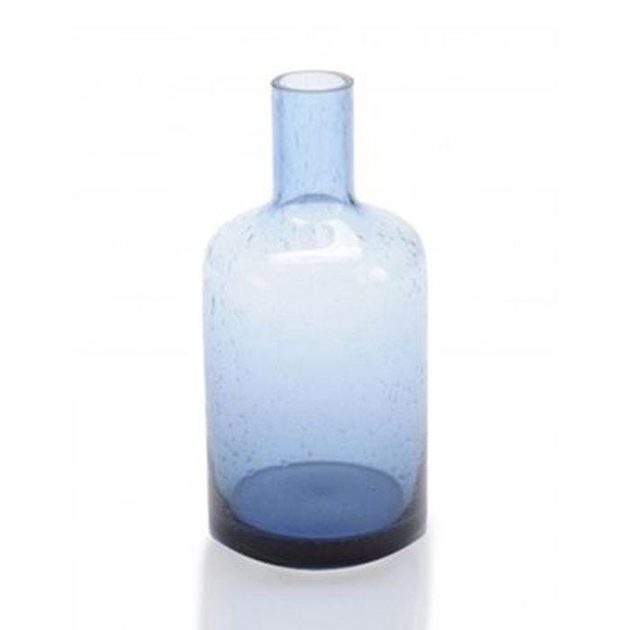 soliflore design en verre bleu transparent bulles piccolo coming b bleu wadiga la redoute. Black Bedroom Furniture Sets. Home Design Ideas